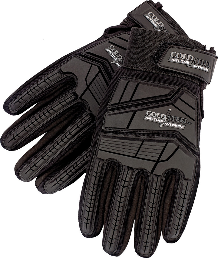 COLD STEEL Tactical Gloves Black XXL