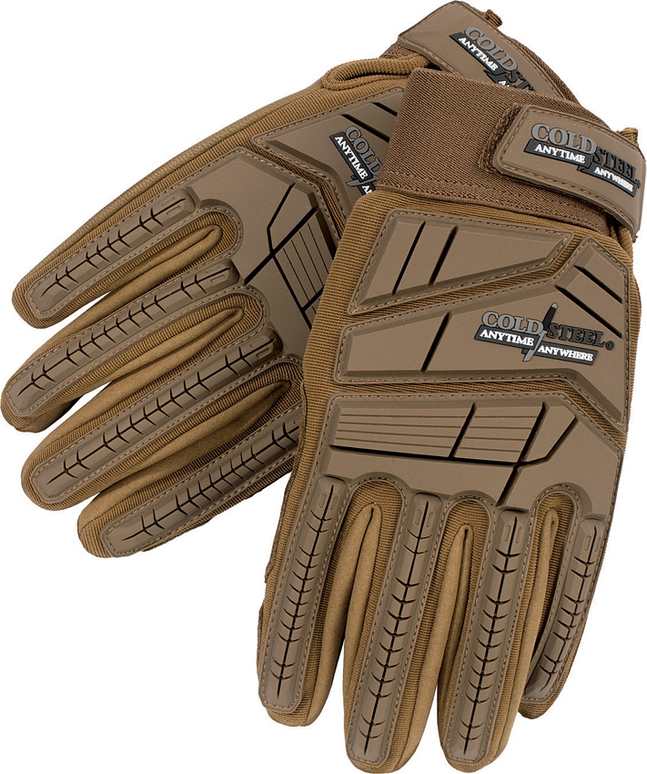 COLD STEEL Tactical Gloves Tan XL