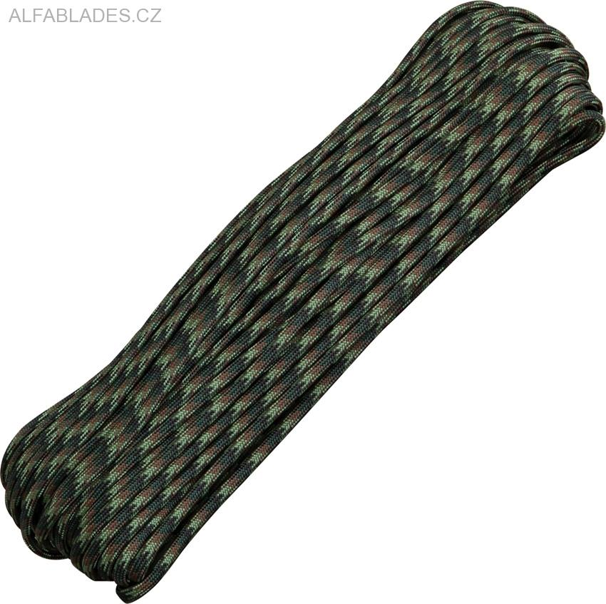 Paracord 550 Woodland 100ft (30,5m)