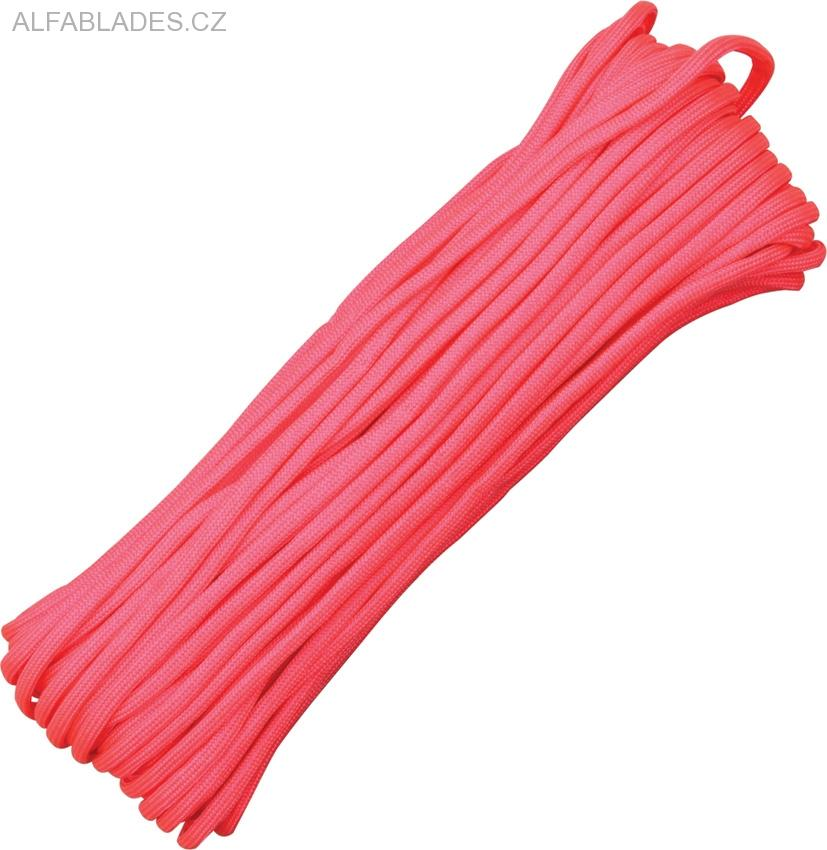 Paracord 550 Hot Pink 100ft (30,5m)