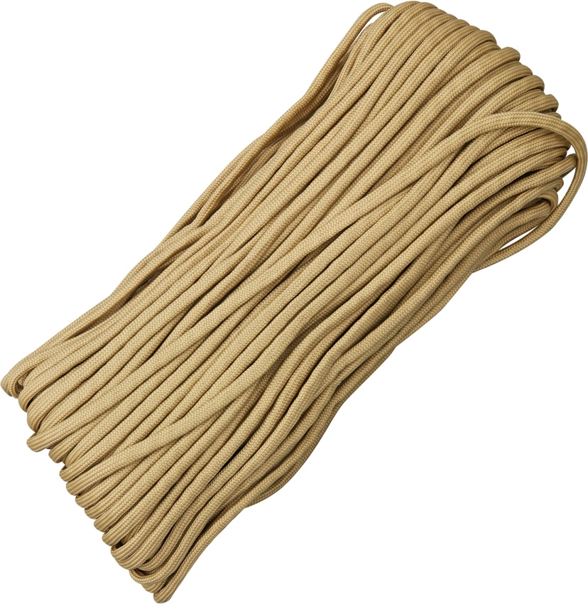 Paracord 550 Desert Tan 100ft (30,5m)