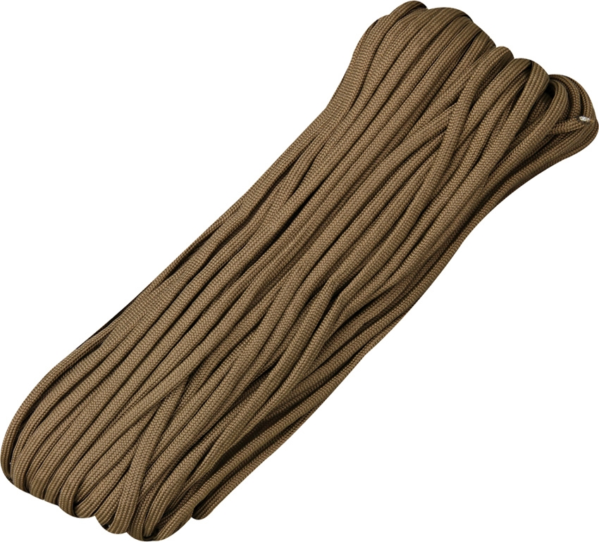 Paracord 550 Brown 100ft (30,5m)