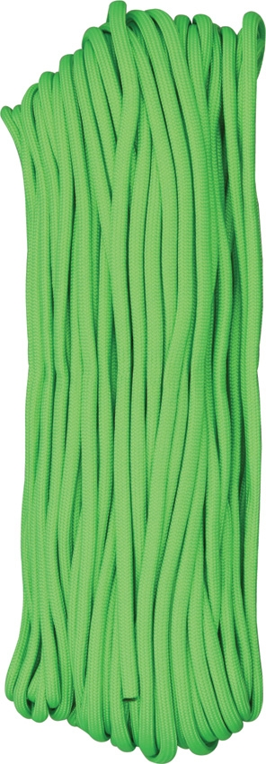 Paracord 550 Lime Green 100ft (30,5m)