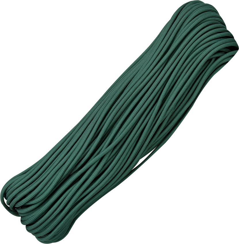 Paracord 550 Hunter Green 100ft (30,5m)