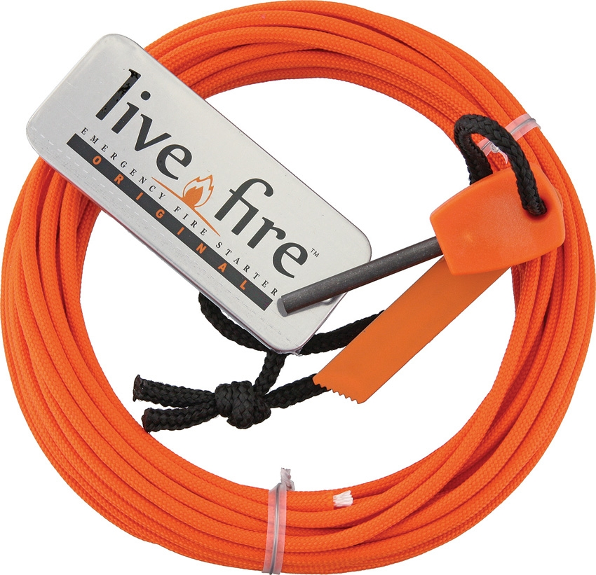 LIVE FIRE Ring O Fire Safety Orange 25 ft. (7,6m)