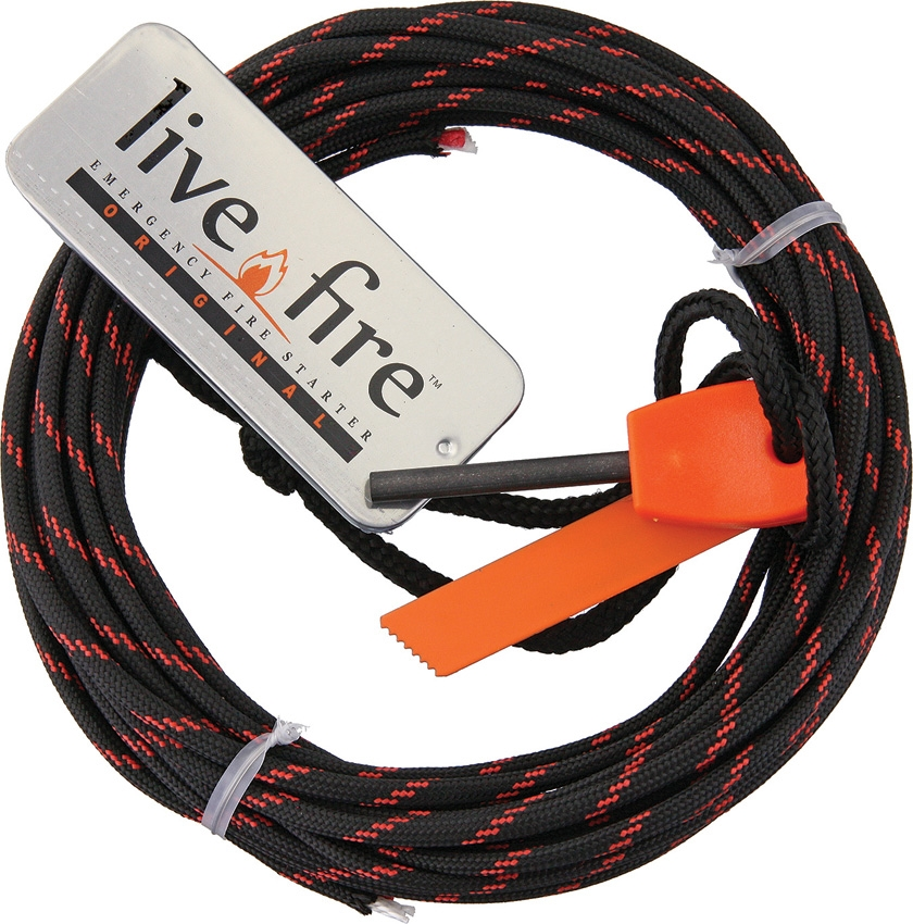 LIVE FIRE Ring O Fire Thin Red Line 25 ft. (7,6m)