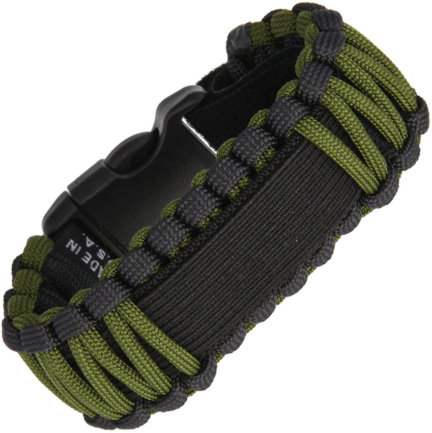 SURVCO TACTICAL Paracord Watch Band OD Green