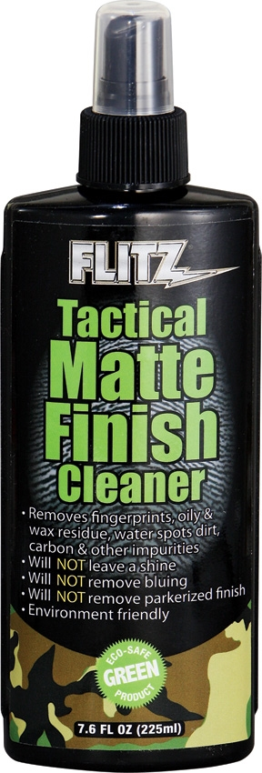 FLITZ Tactical Matte finish Cleaner 225 ml