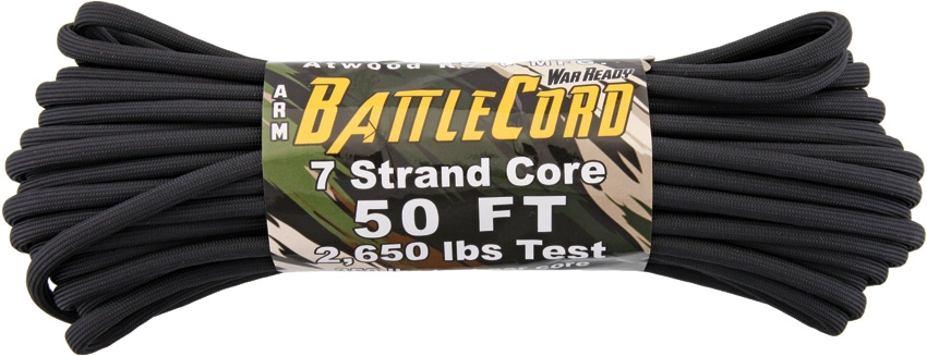 Battle Cord Black 50ft (15,3m)