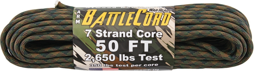 Battle Cord Woodland 50ft (15,3m)