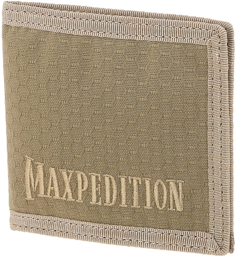 MAXPEDITION AGR BFW Bi-Fold Wallet Tan