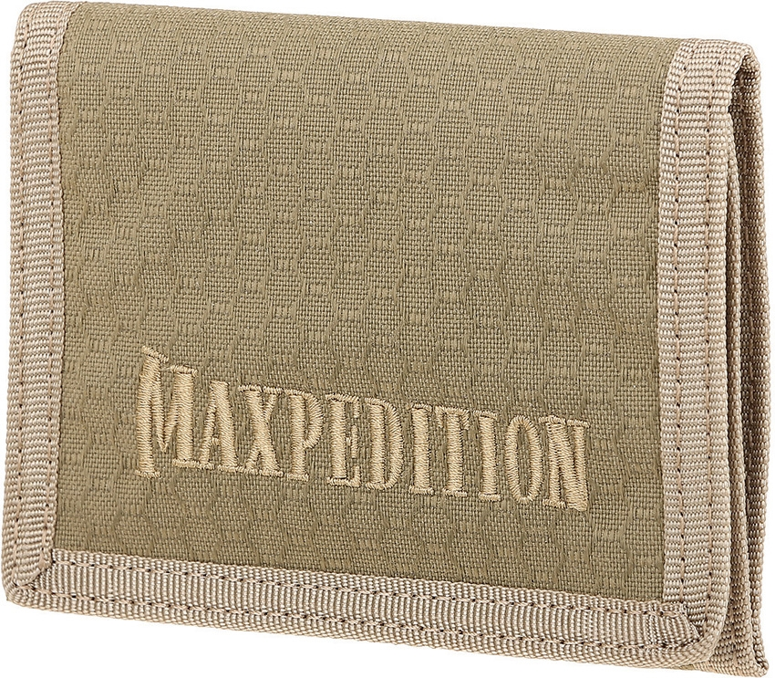 MAXPEDITION AGR TFW Bi-Fold Wallet Tan