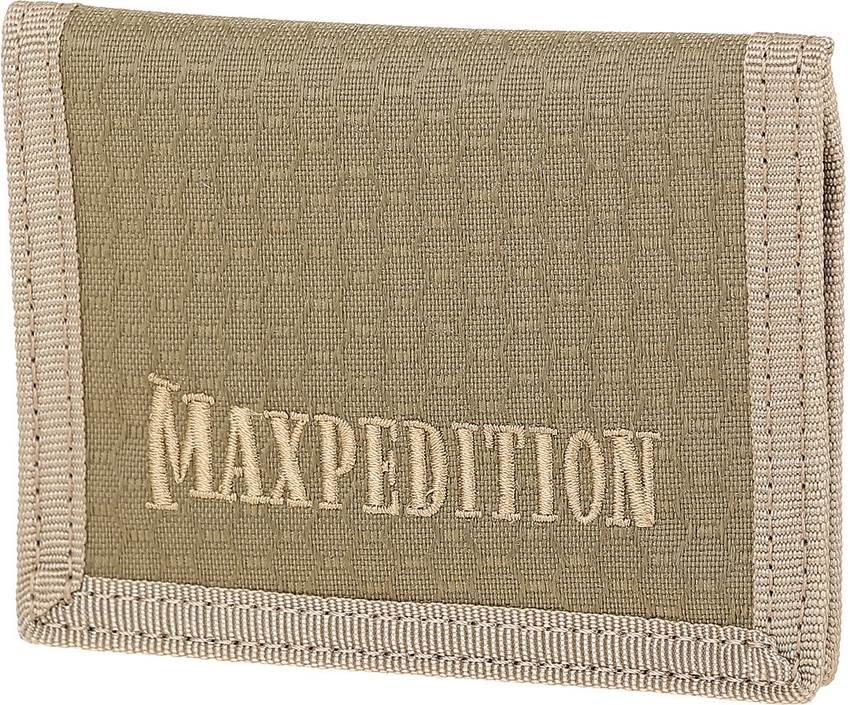 MAXPEDITION AGR LPW Bi-Fold Wallet Tan