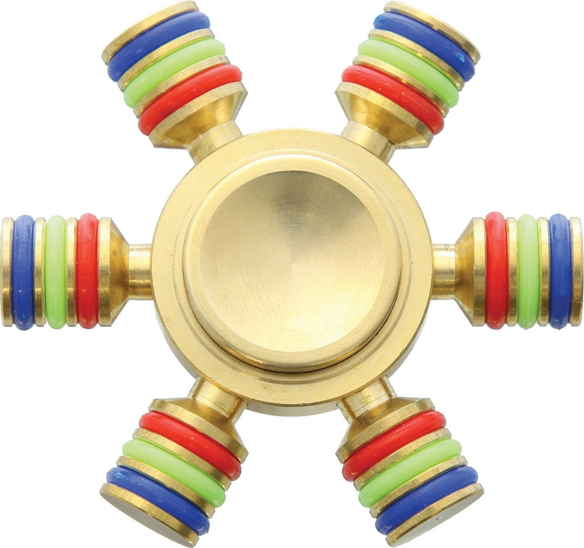 NOVELTY CUTLERY Fidget Spinner Brass