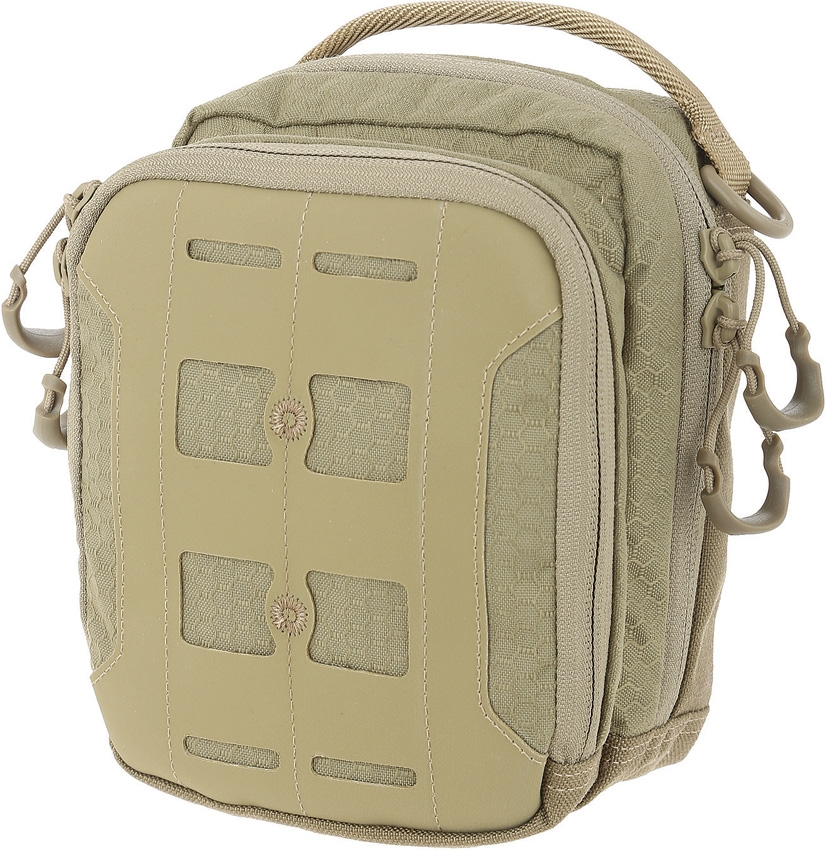 MAXPEDITION AGR AUP Accordion Utility Pouch Tan