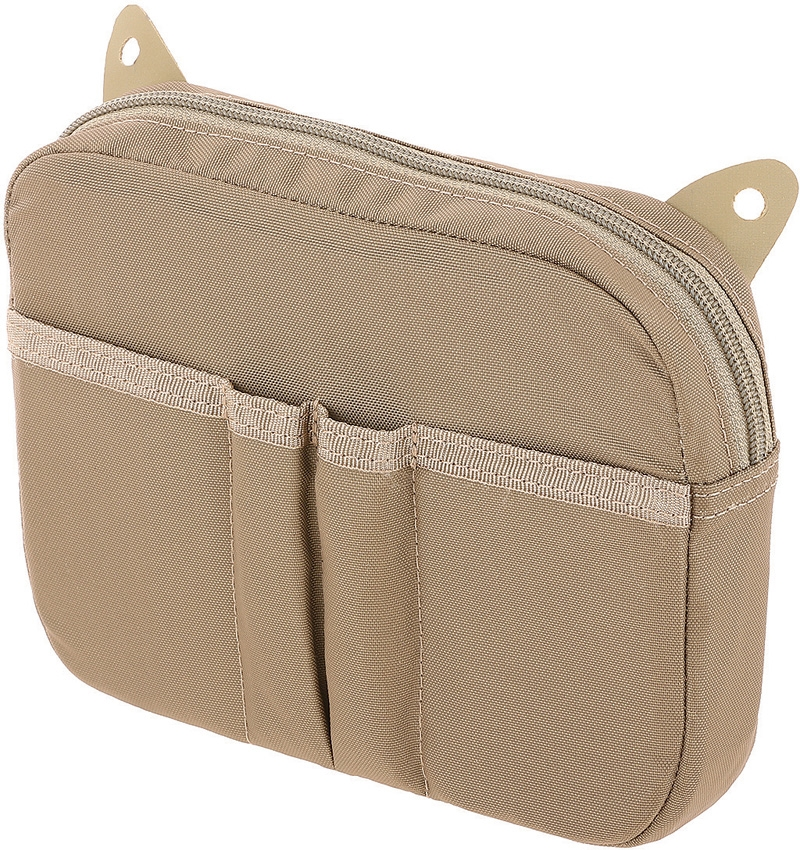 MAXPEDITION AGR HLP Hook & Loop Pouch Tan