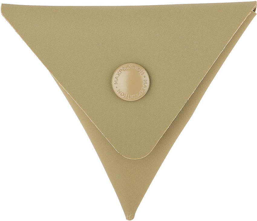 MAXPEDITION AGR TCP Triangle Coin Pouch Tan
