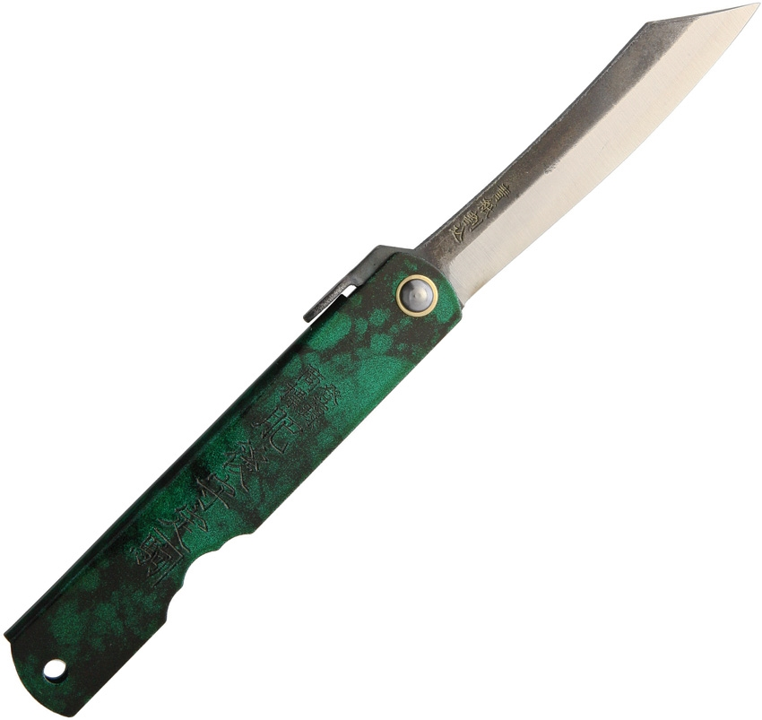 HIGONOKAMI Friction Folder Jade
