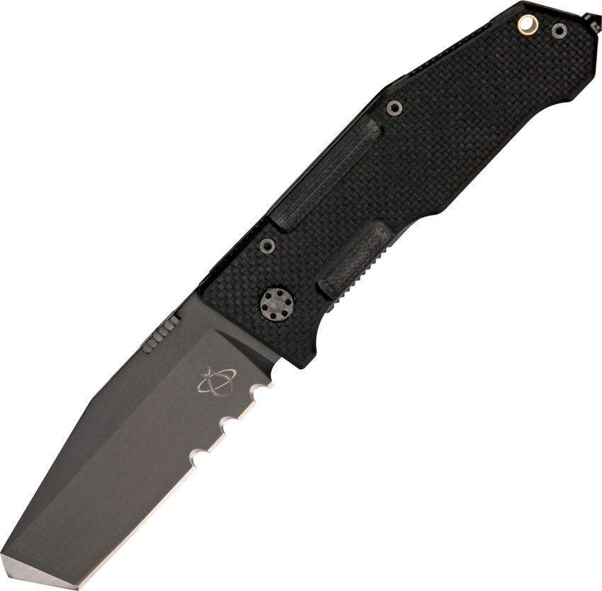 MANTIS Folding Pry II Black Serrated