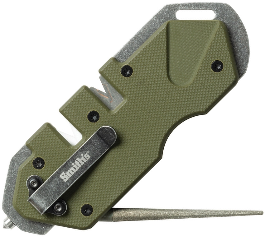 SMITH'S SHARPENERS PP1-Tactical Knife Sharpener (OD Green)