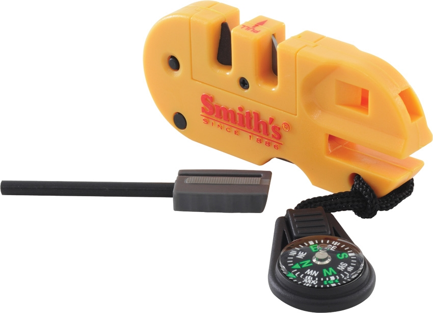 SMITH'S SHARPENERS Pocket Pal X2 Sharpener & Outdoor Tool