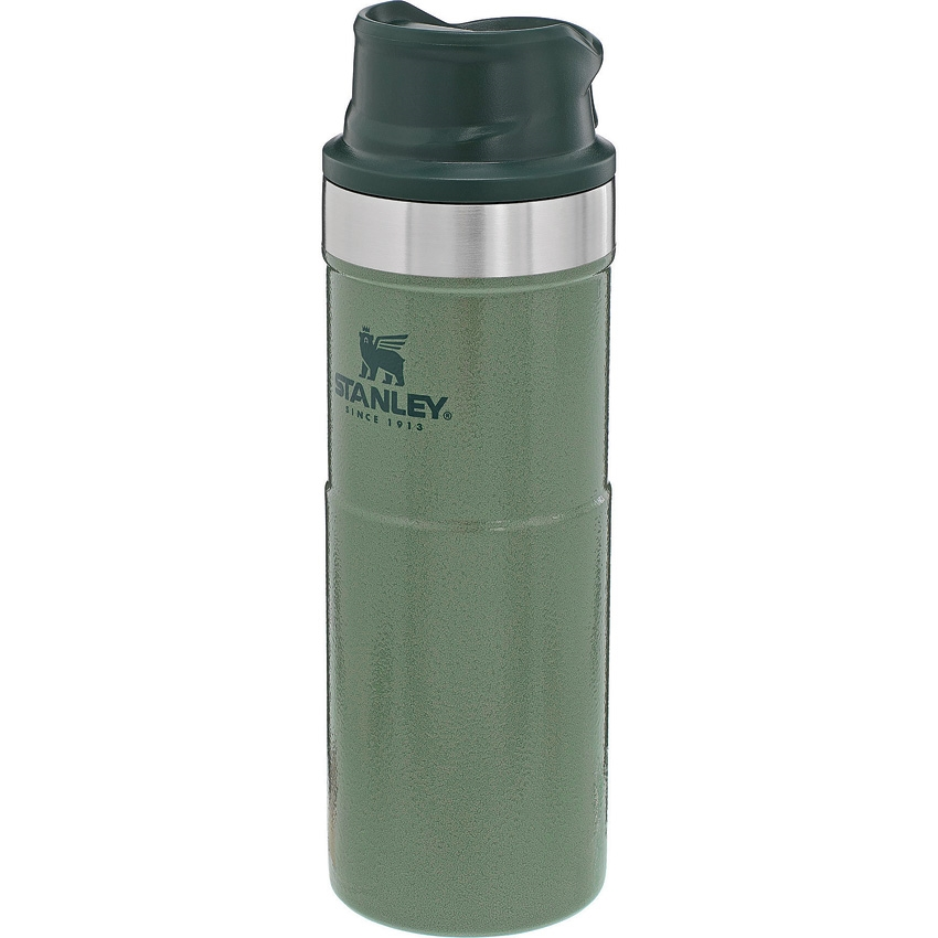 STANLEY Classic Trigger-Action Travel Mug  16oz (0,473l) Hammertone Green
