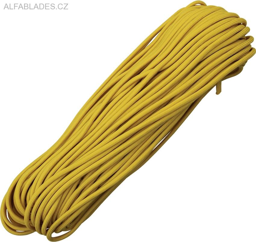 Paracord 550 Yelow/Gold 100ft (30,5m)