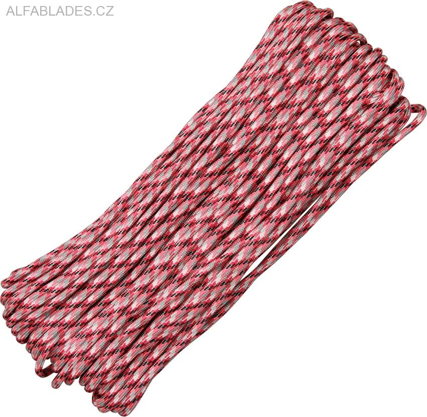 Paracord 550 Pink Camo 100ft (30,5m)