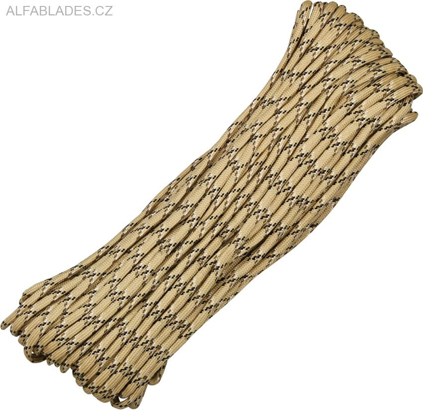 Paracord 550 Desert Camo 100ft (30,5m)