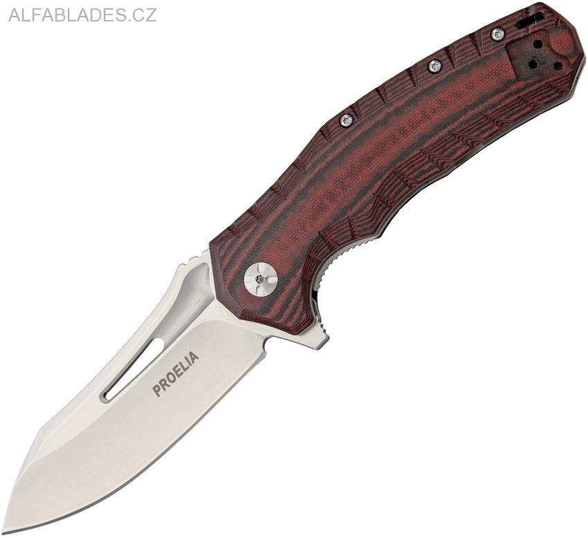 DEFCON Proelia TX-020 Stonewashed,Red/Black G-10