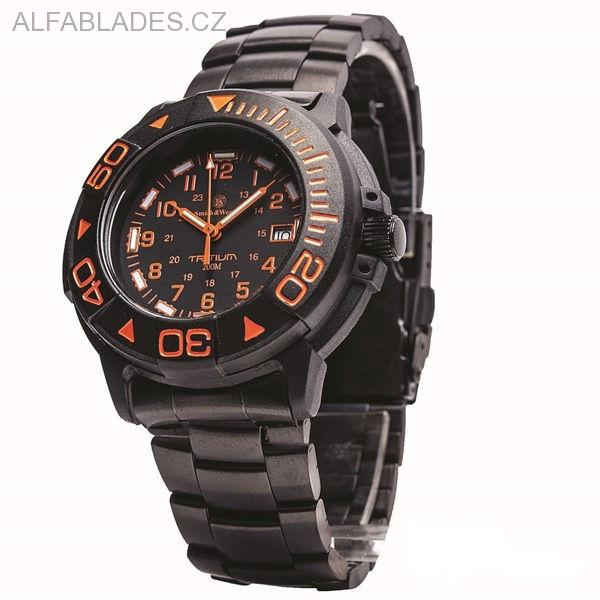 SMITH & WESSON Diver Watch Orange Tritium